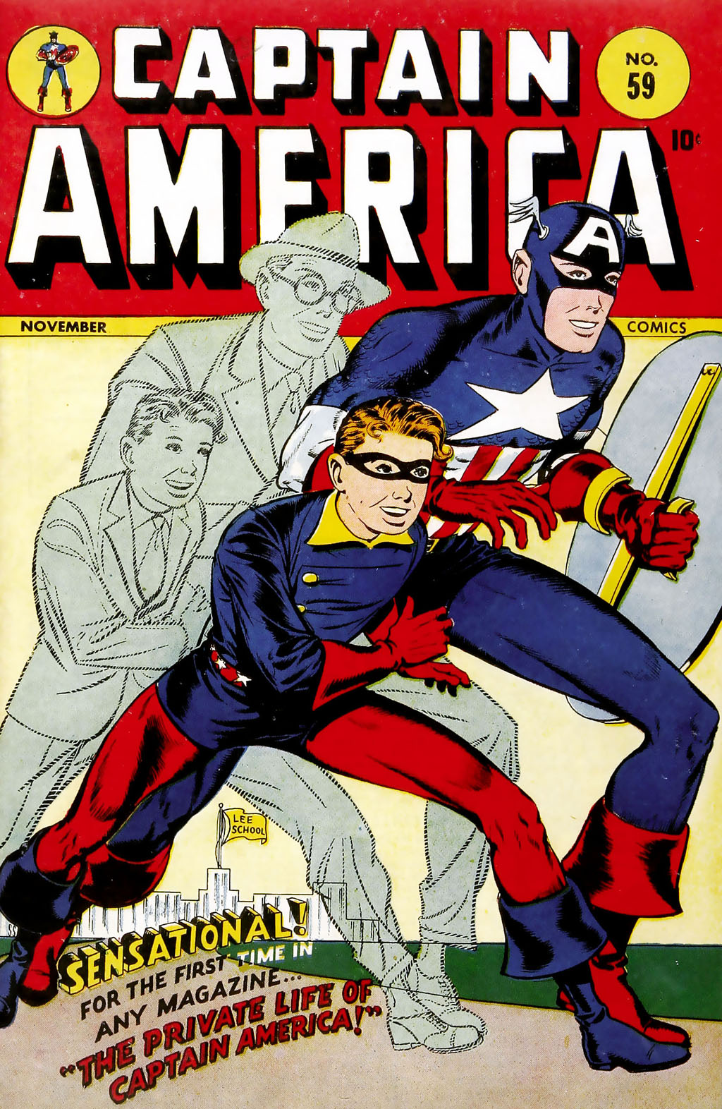 Captain America Comics 59 Page 1