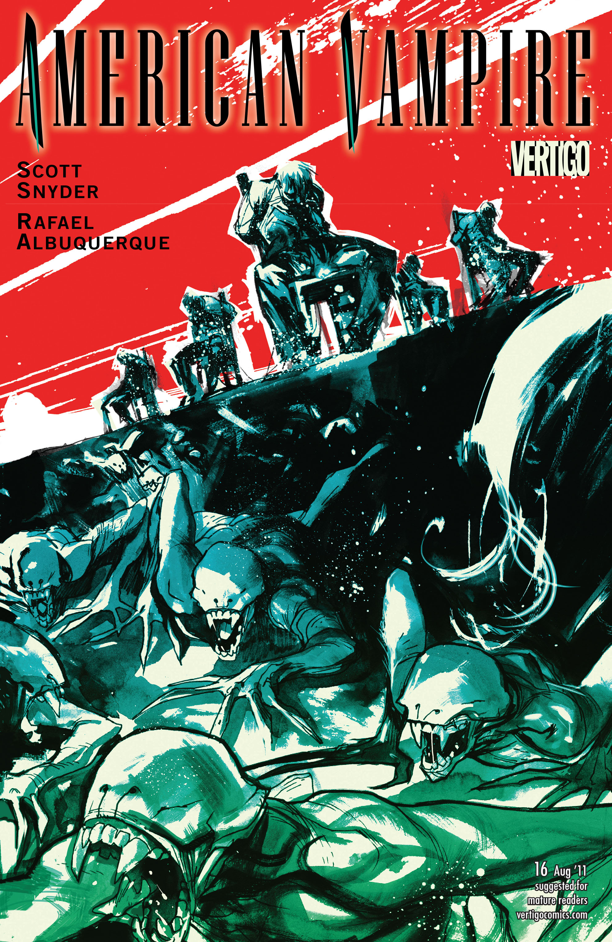Read online American Vampire comic -  Issue #16 - 1