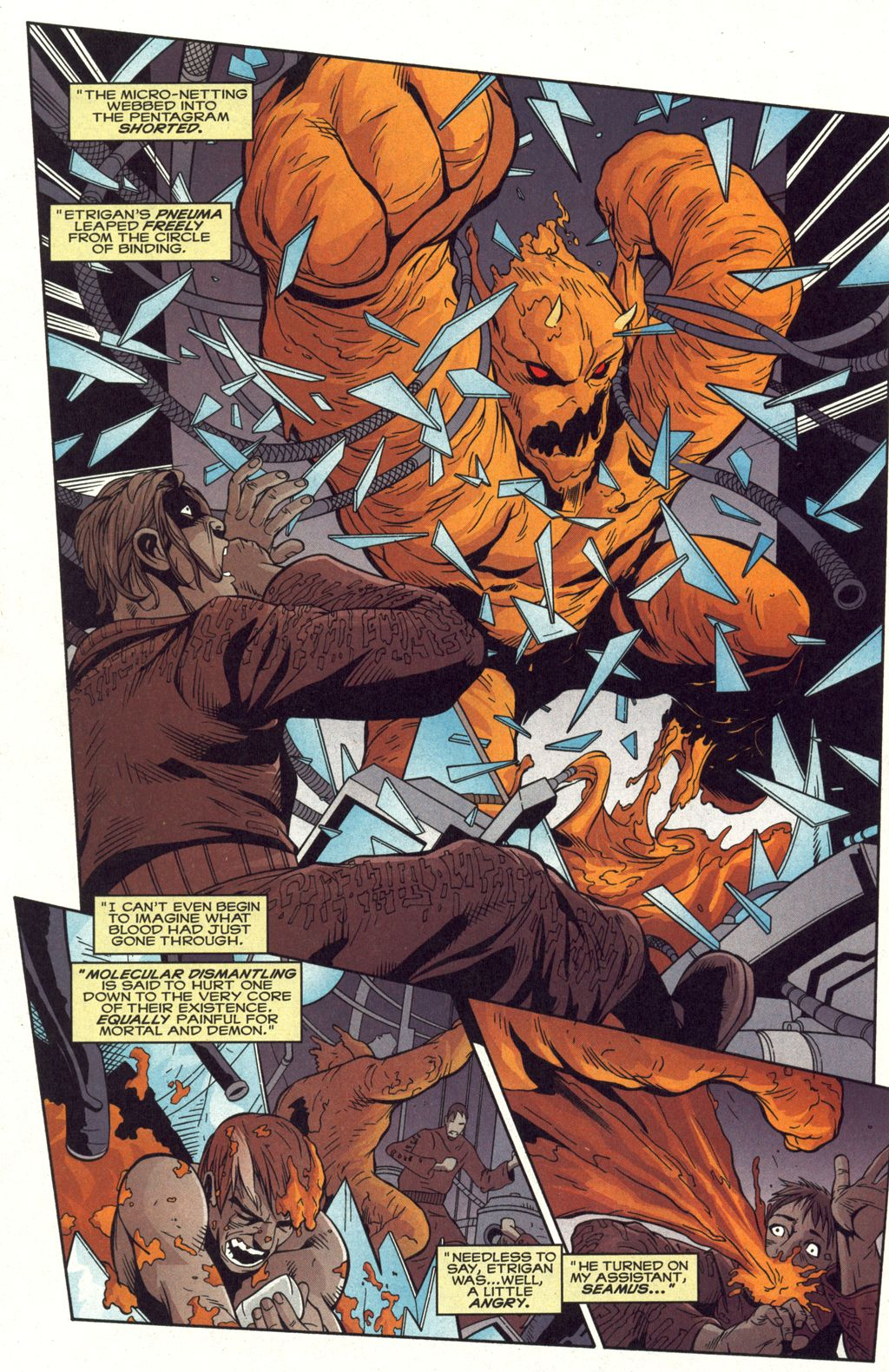 Demon: Driven Out #4 - Read Demon: Driven Out Issue #4 Online