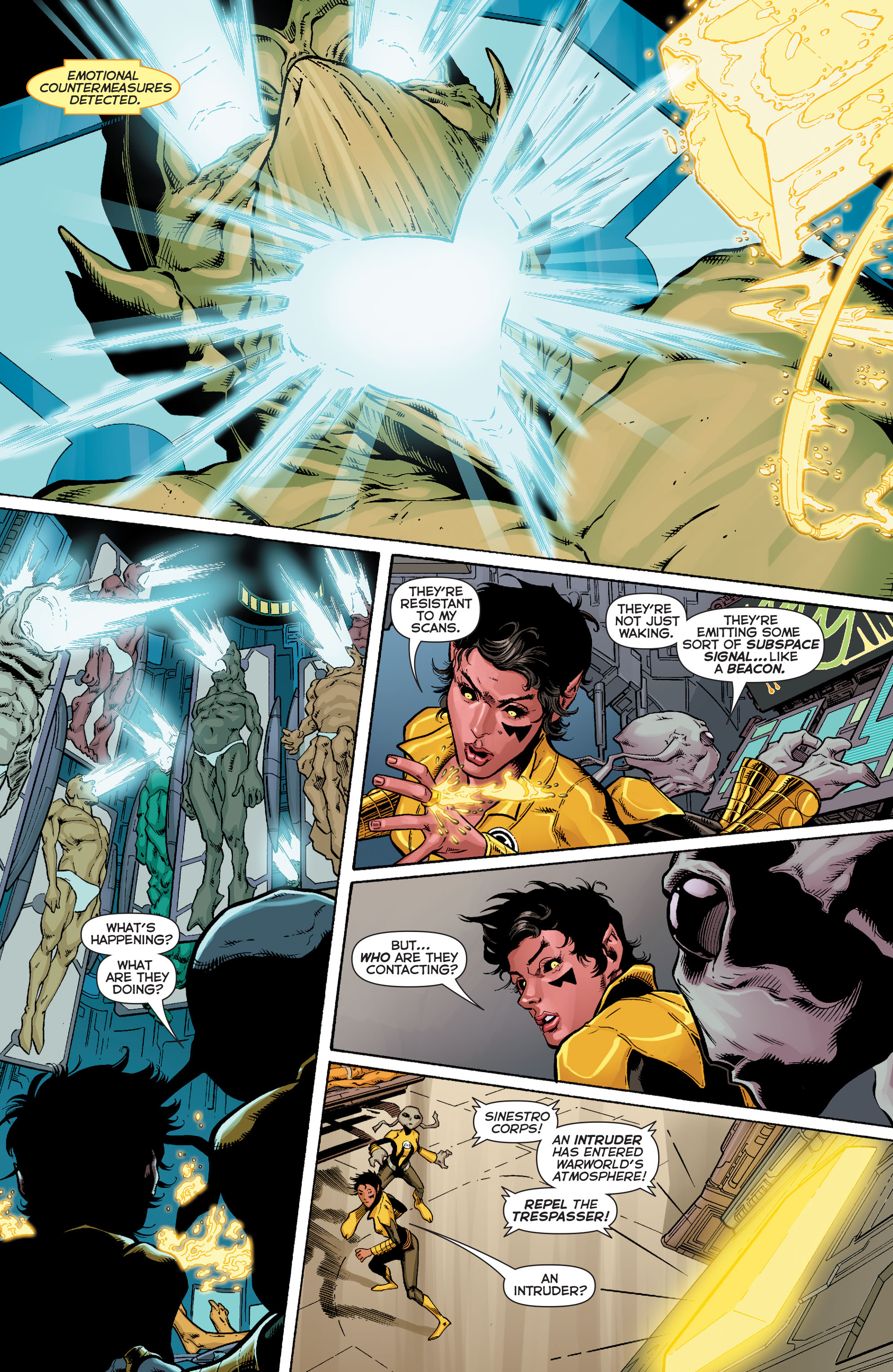 Read online Sinestro comic -  Issue #17 - 12