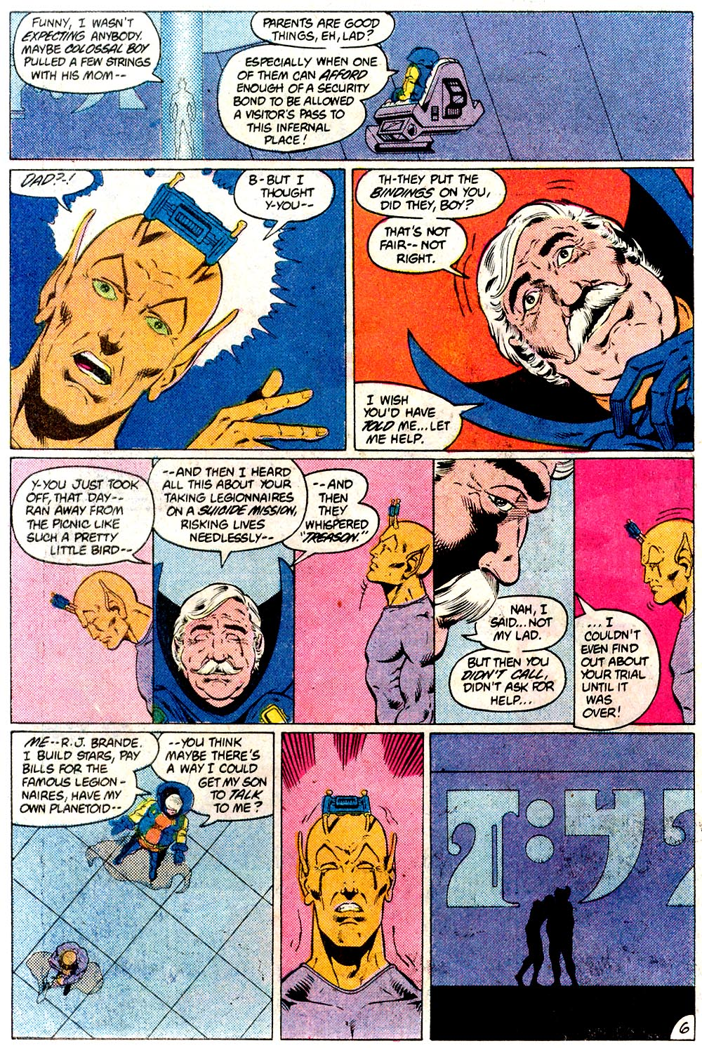 Legion of Super-Heroes (1980) 293 Page 6