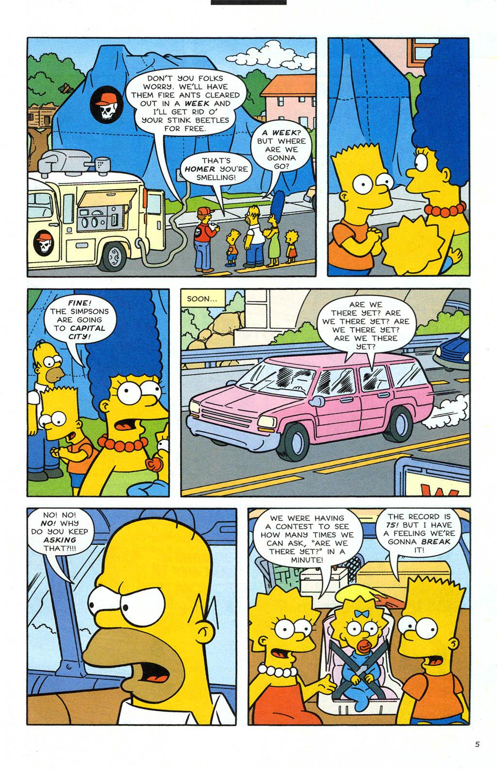 Read online Simpsons Comics comic -  Issue #106 - 6