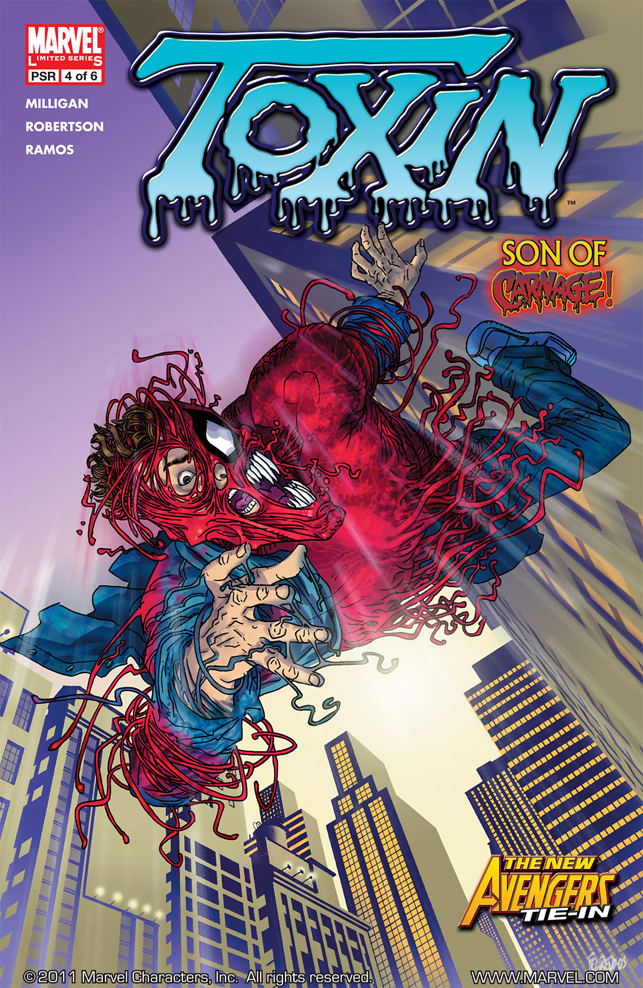Read online Toxin comic -  Issue #4 - 1
