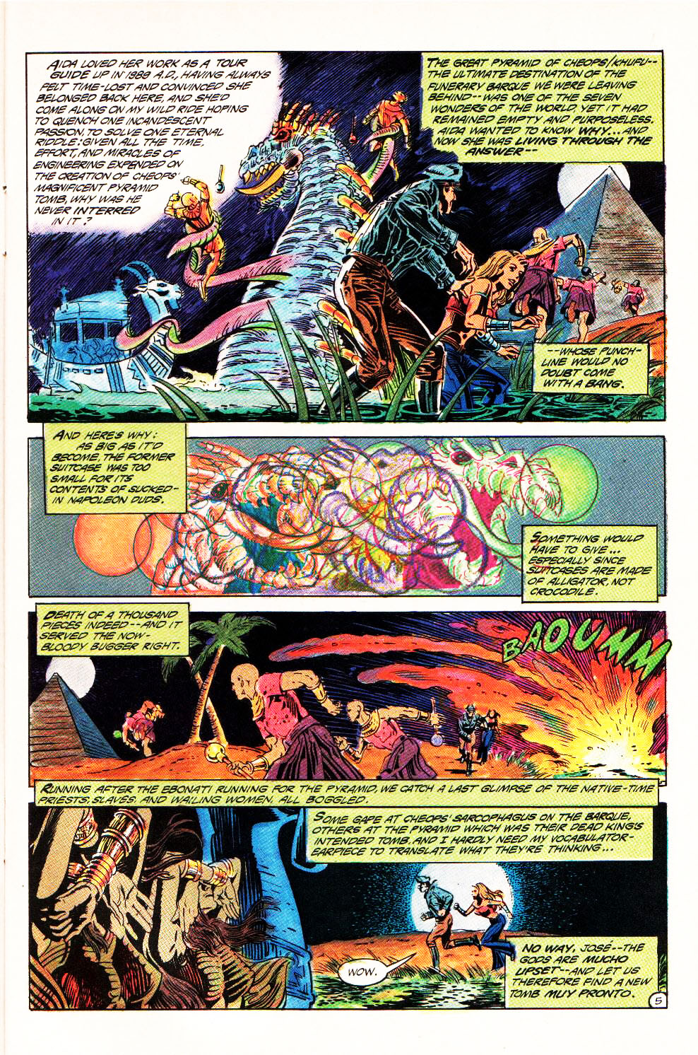 Read online Aztec Ace comic -  Issue #4 - 8