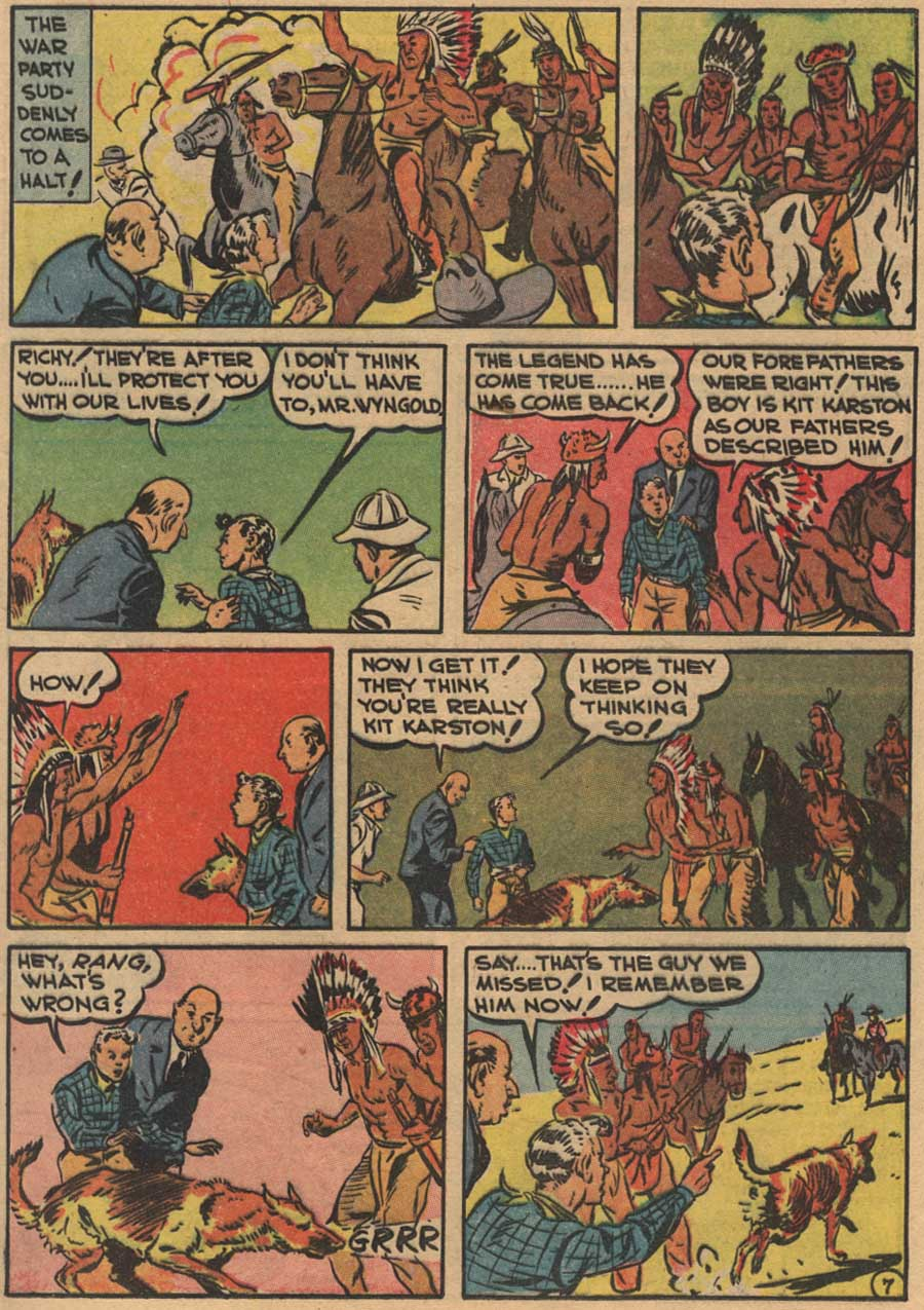 Blue Ribbon Comics (1939) issue 7 - Page 9