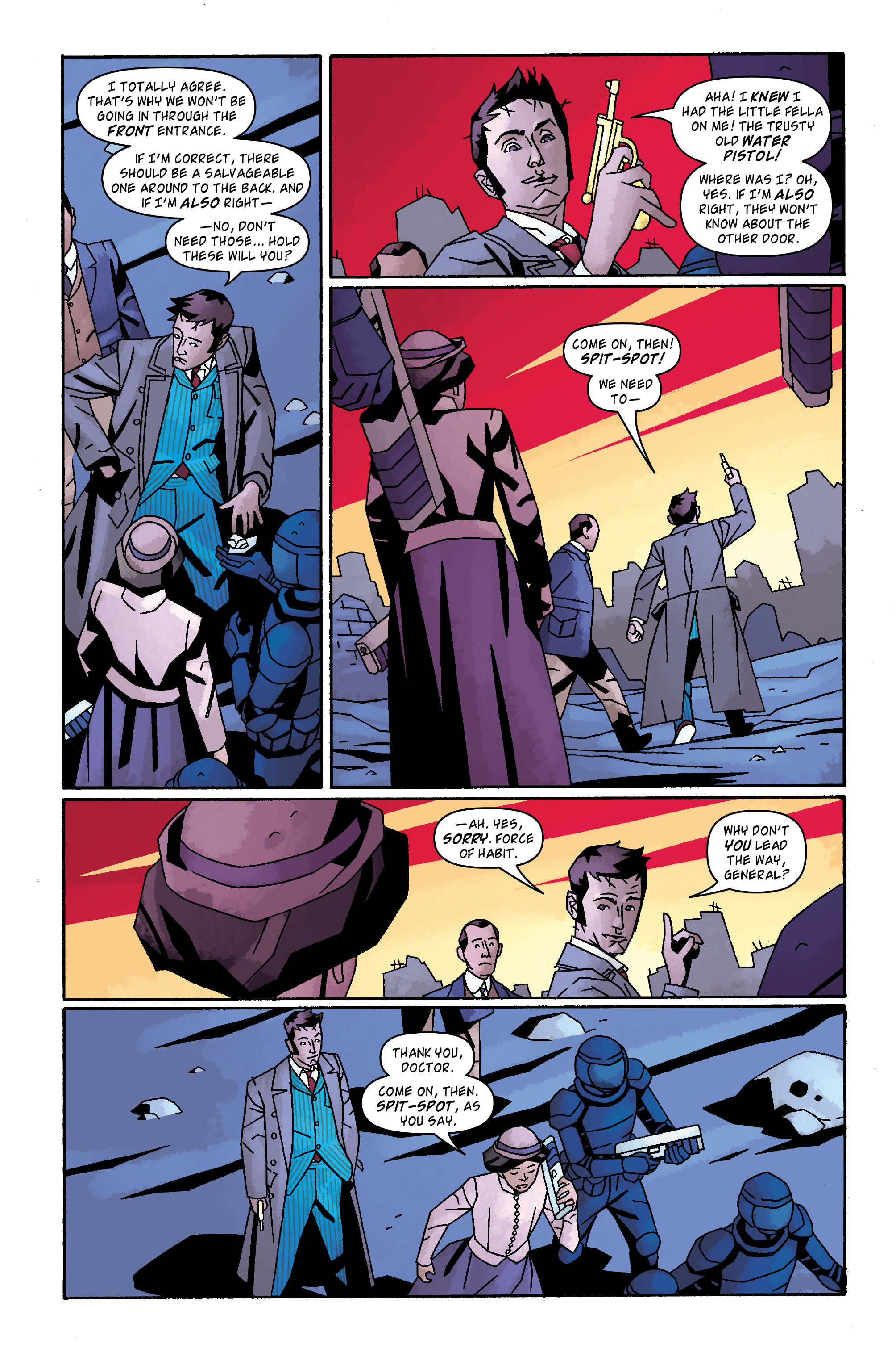 Read online Doctor Who: The Tenth Doctor Archives comic -  Issue #32 - 7