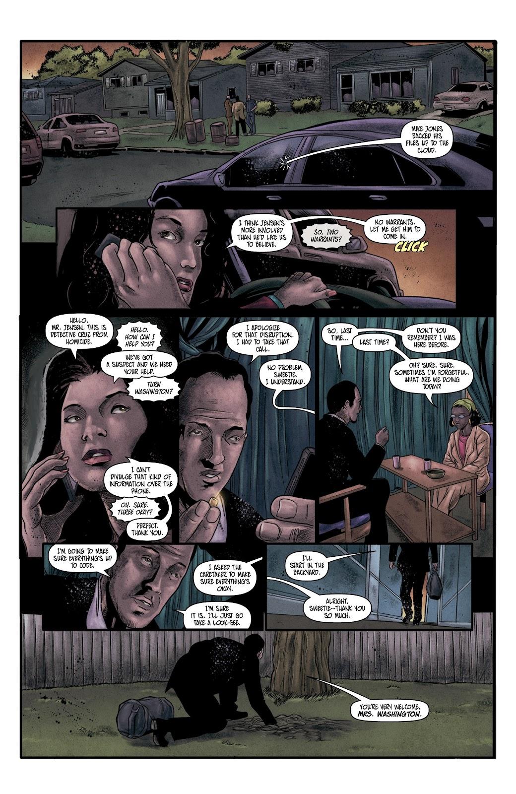 Read online Vindication comic -  Issue #4 - 14