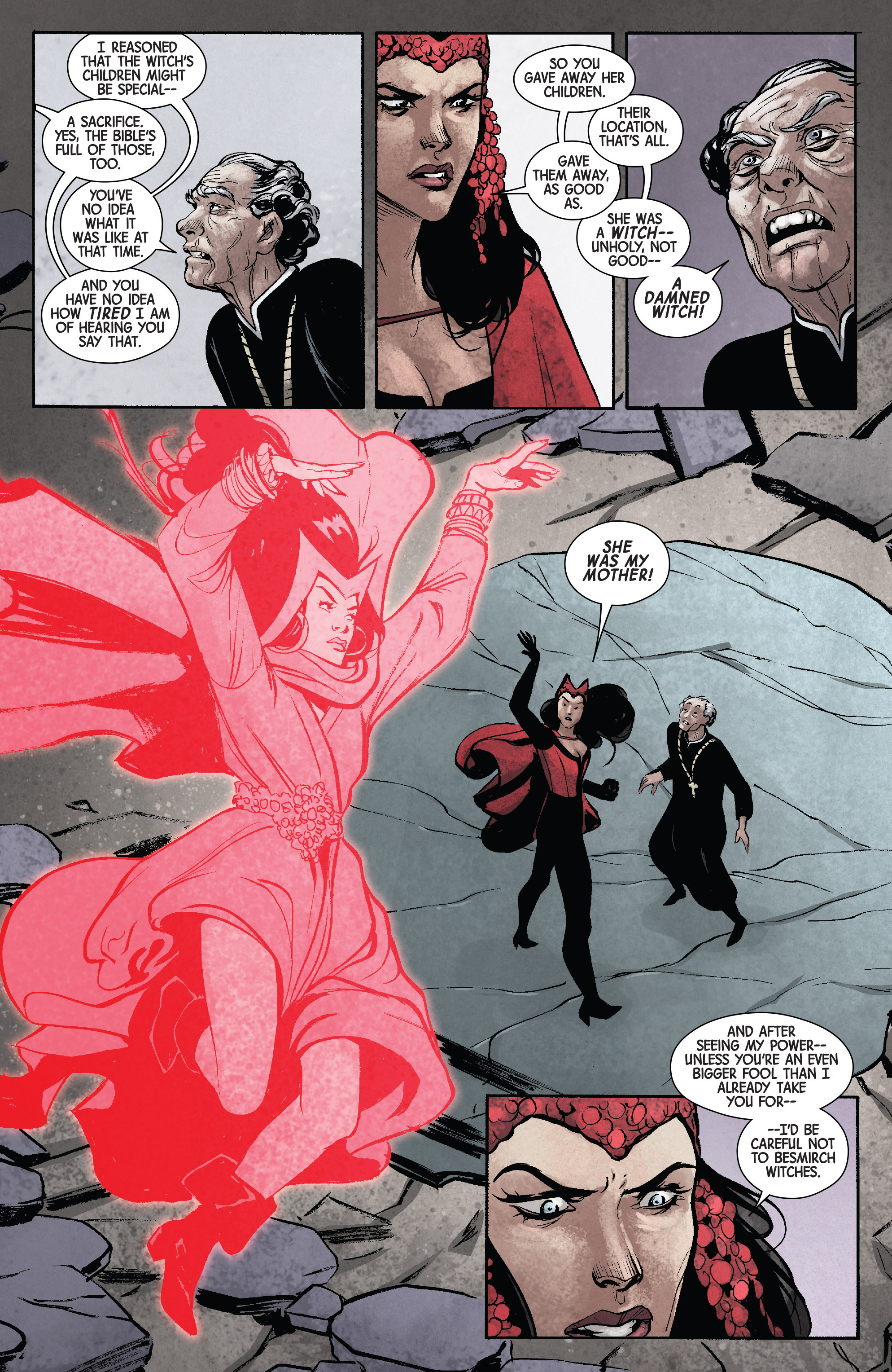 Read online Scarlet Witch (2016) comic -  Issue #11 - 10
