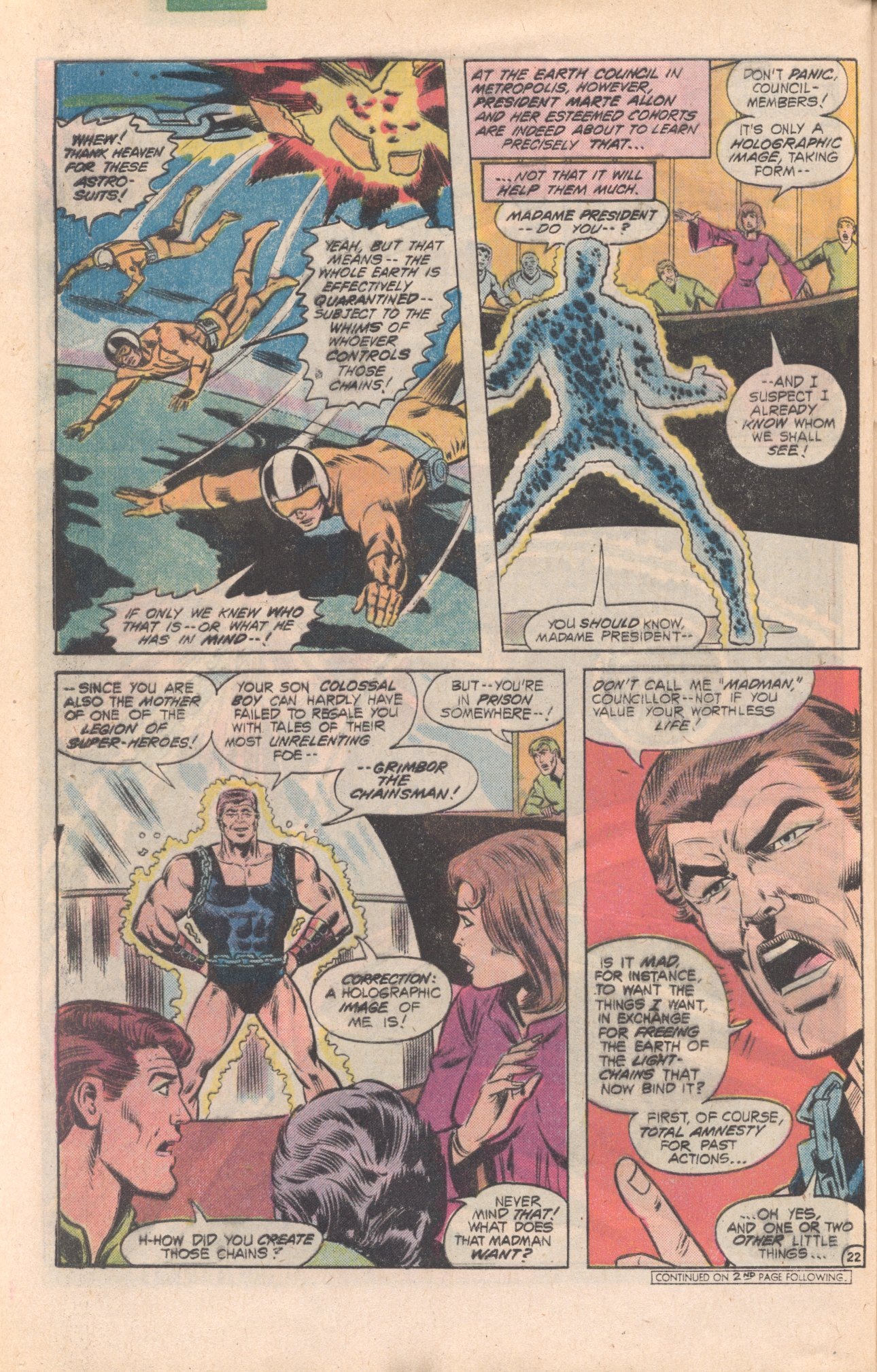 Legion of Super-Heroes (1980) 277 Page 22