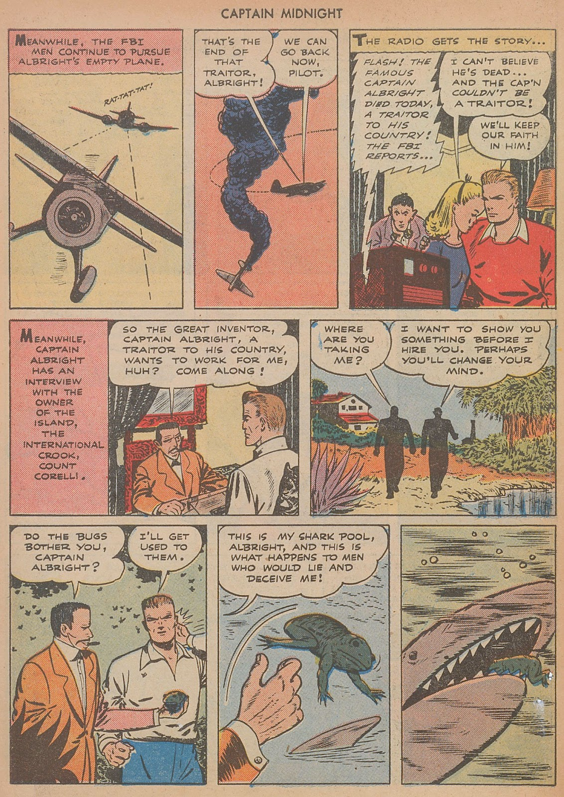 Captain Midnight (1942) issue 29 - Page 6