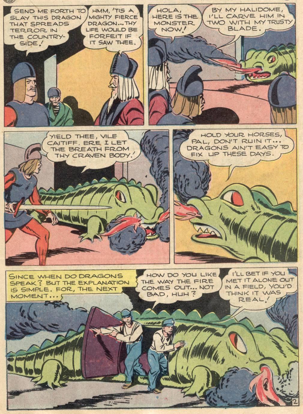 Read online Adventure Comics (1938) comic -  Issue #100 - 23
