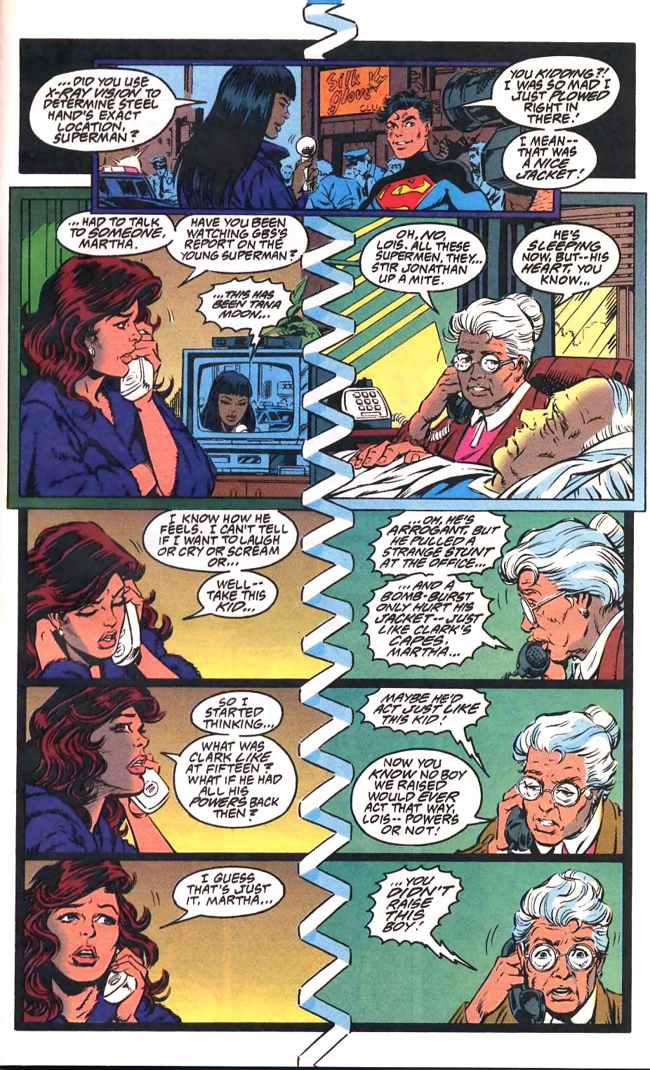 Read online Adventures of Superman (1987) comic -  Issue #501 - 23