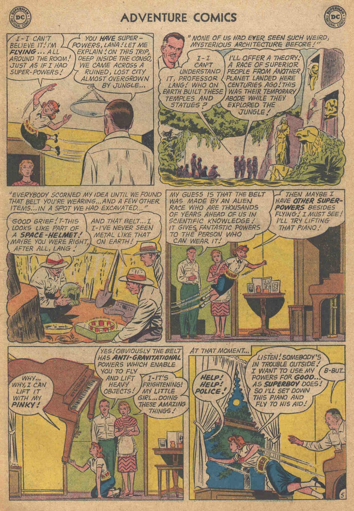 Read online Adventure Comics (1938) comic -  Issue #285 - 7
