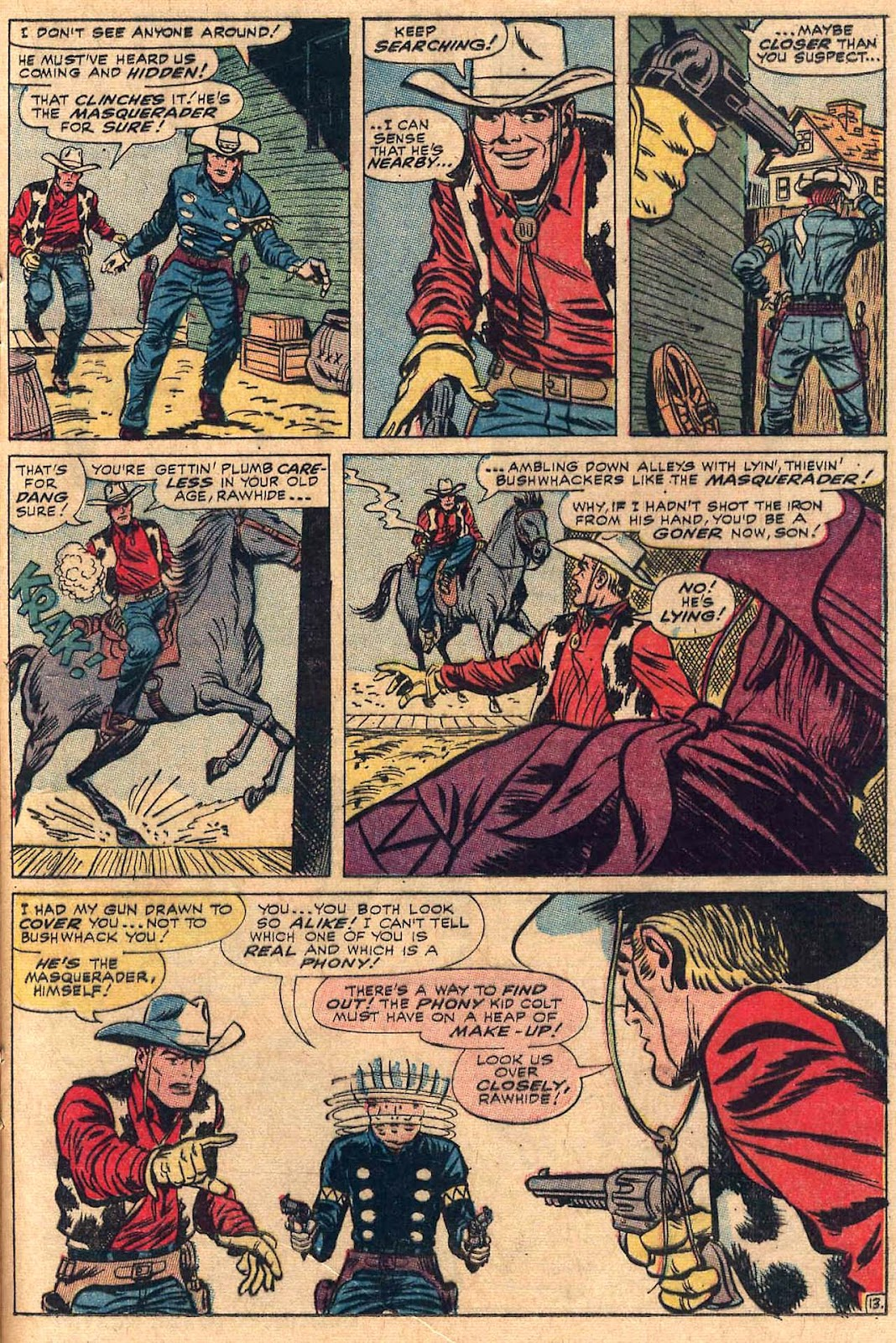 The Rawhide Kid (1955) issue 50 - Page 17
