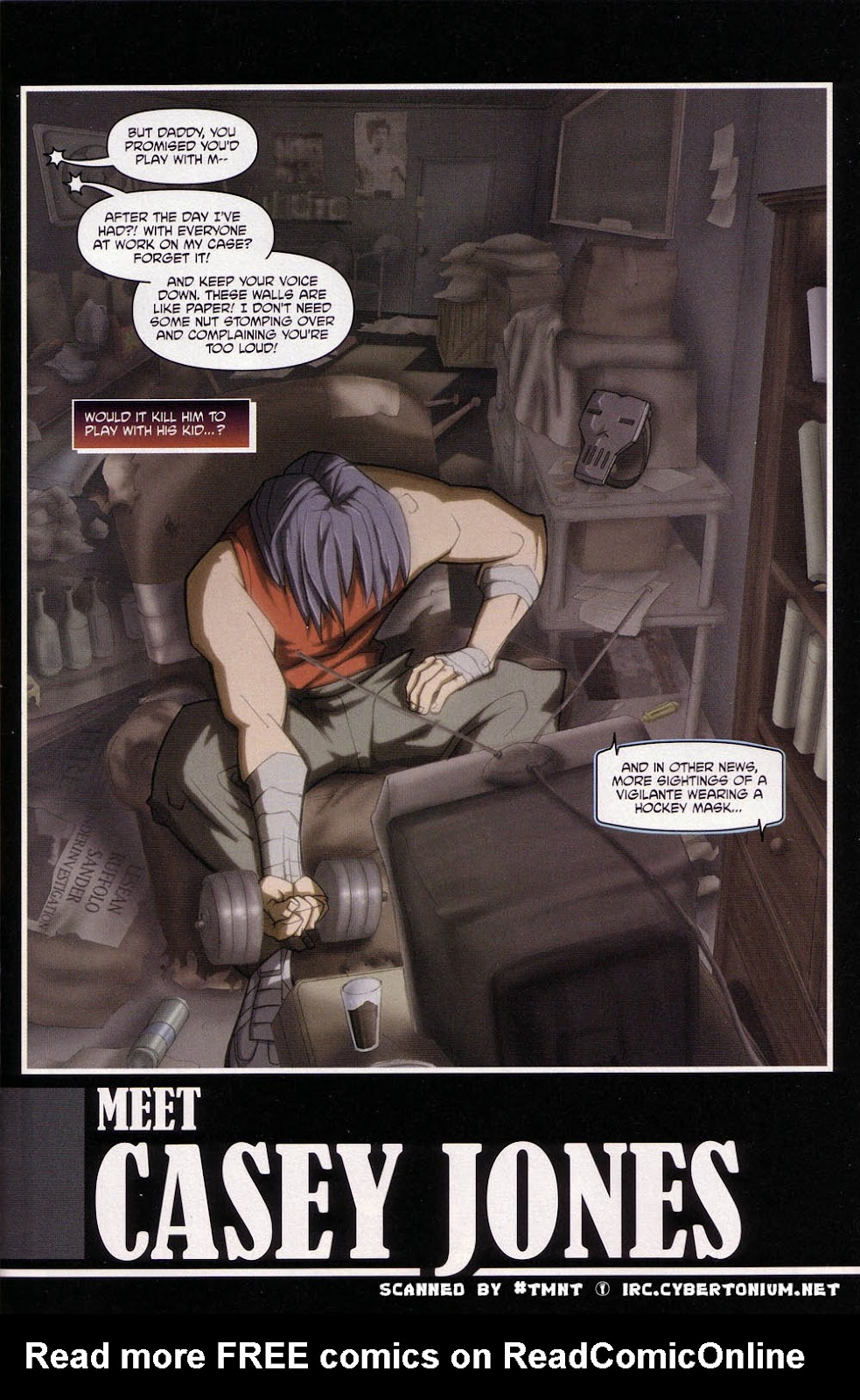 Teenage Mutant Ninja Turtles (2003) issue 4 - Page 3