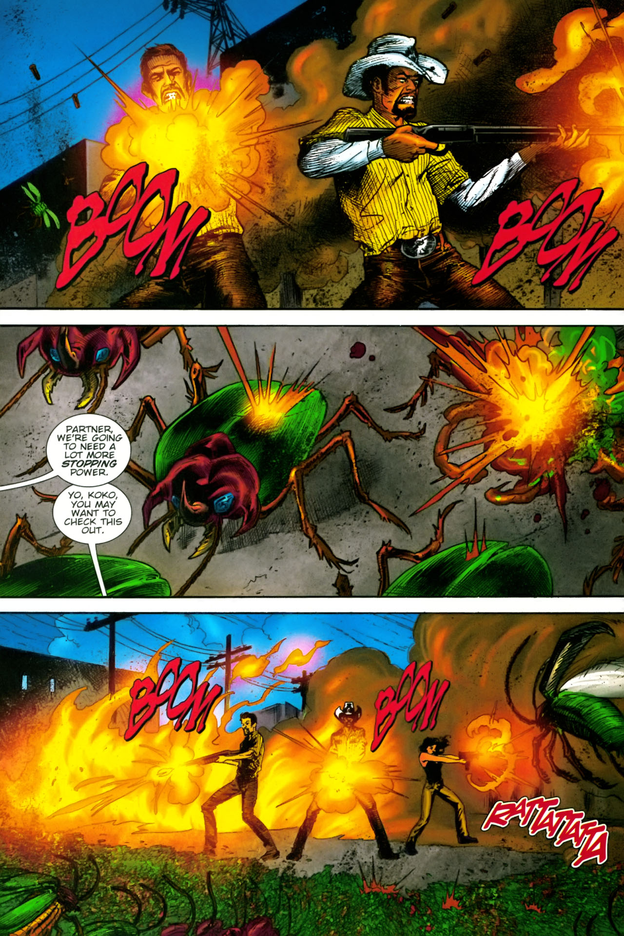 Read online The Exterminators comic -  Issue #22 - 6