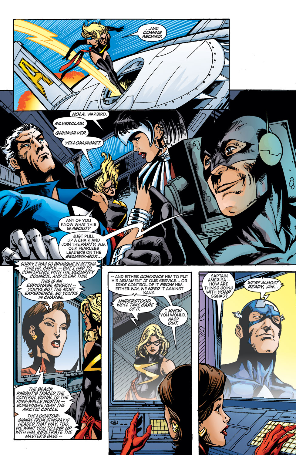 Read online Avengers (1998) comic -  Issue #46 - 9