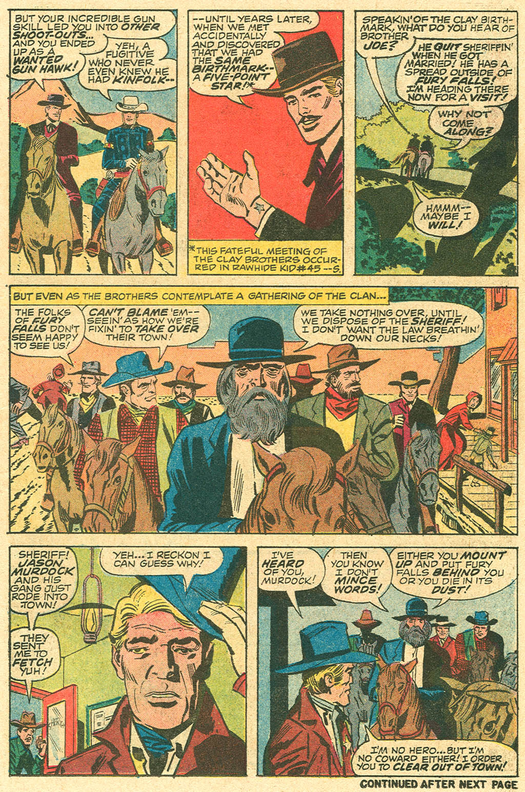 The Rawhide Kid (1955) issue 100 - Page 11