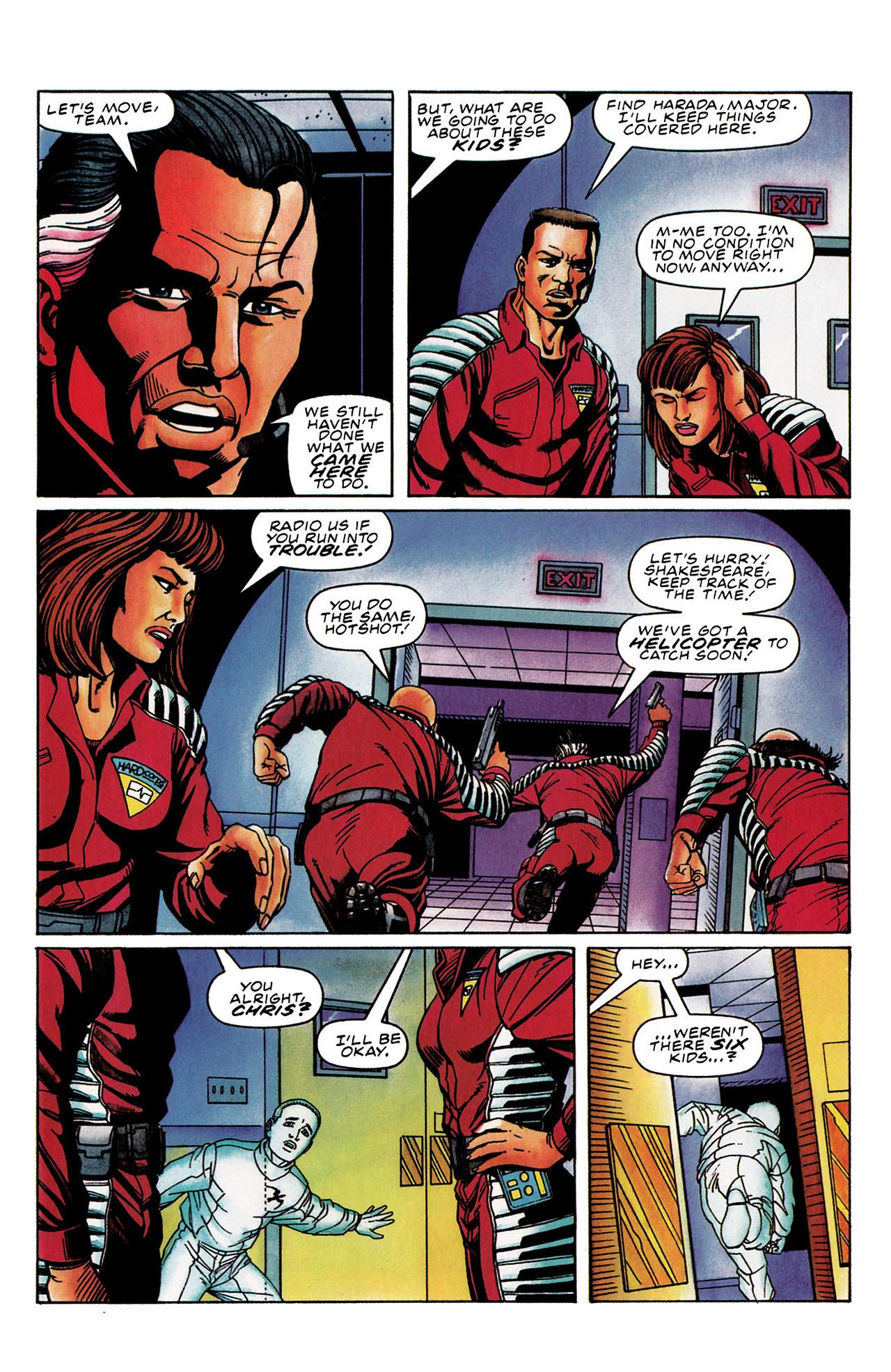 Read online Harbinger (1992) comic -  Issue #30 - 21