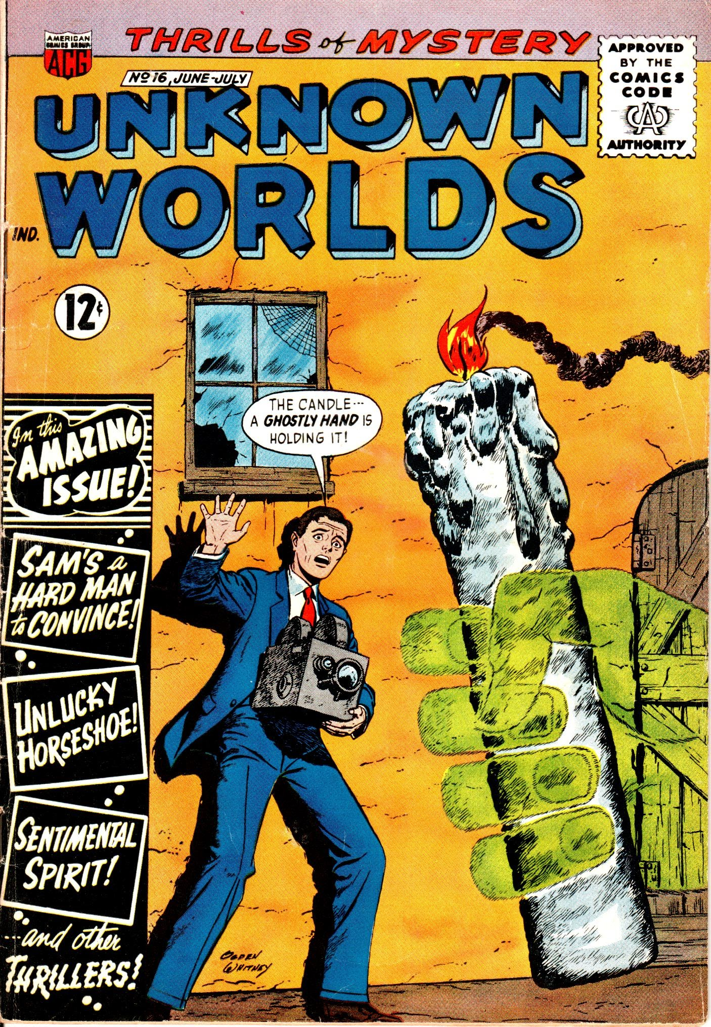 Unknown Worlds 16 Page 1
