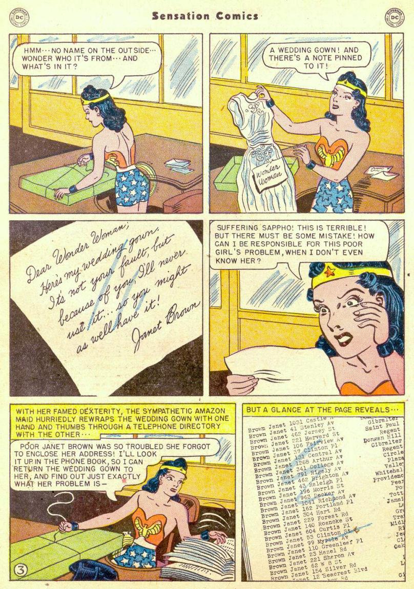 Read online Sensation (Mystery) Comics comic -  Issue #98 - 5