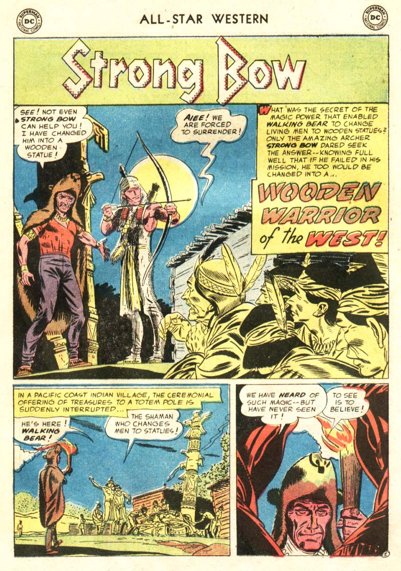 Read online All-Star Western (1951) comic -  Issue #91 - 8