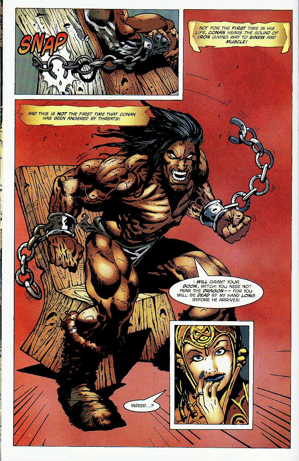 Read online Conan: Return of Styrm comic -  Issue #1 - 17