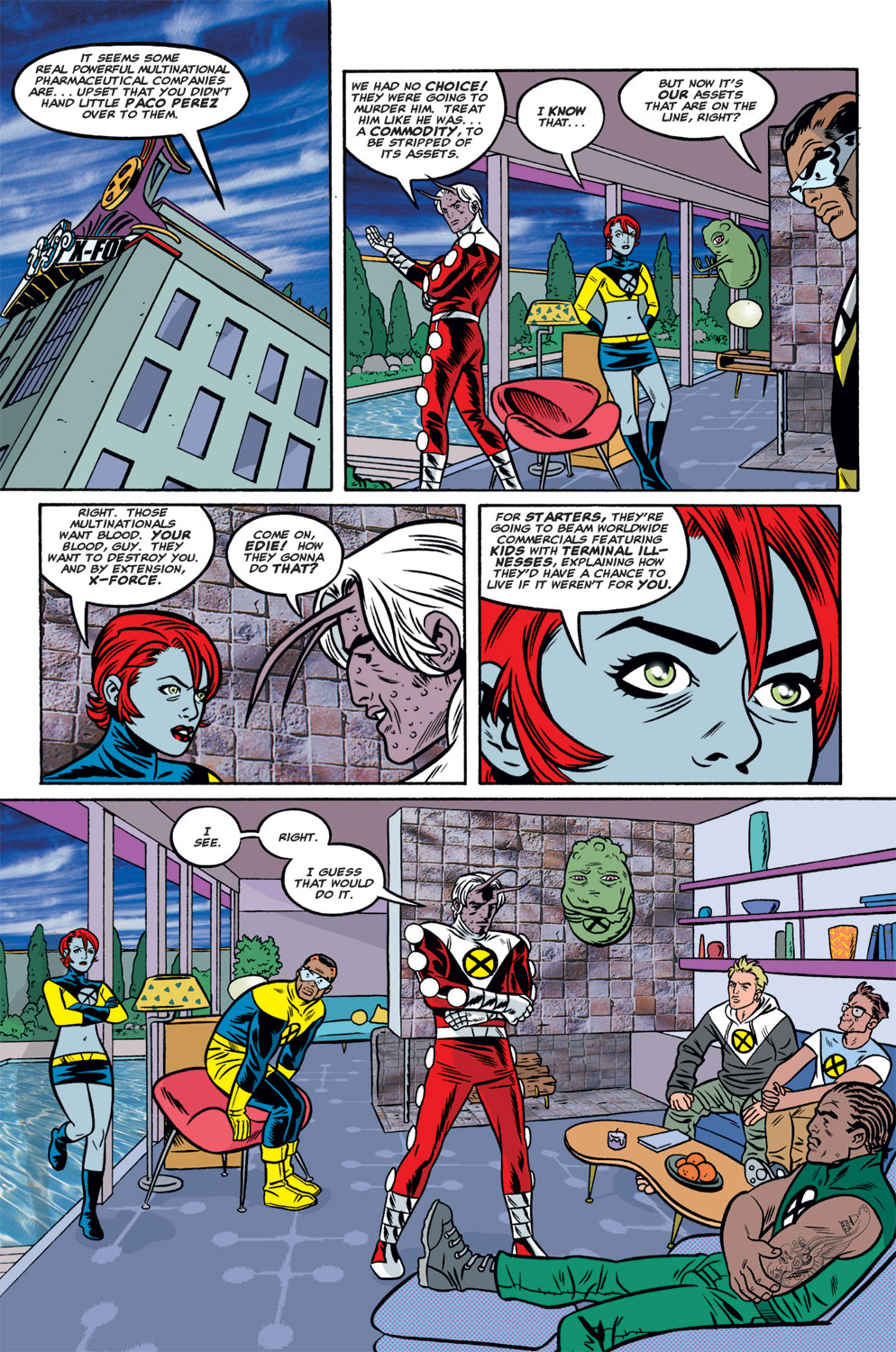 Read online X-Force (1991) comic -  Issue #125 - 15