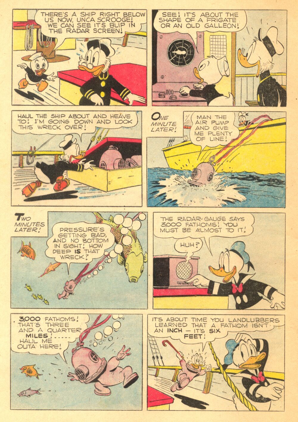 Read online Uncle Scrooge (1953) comic -  Issue #3 - 8