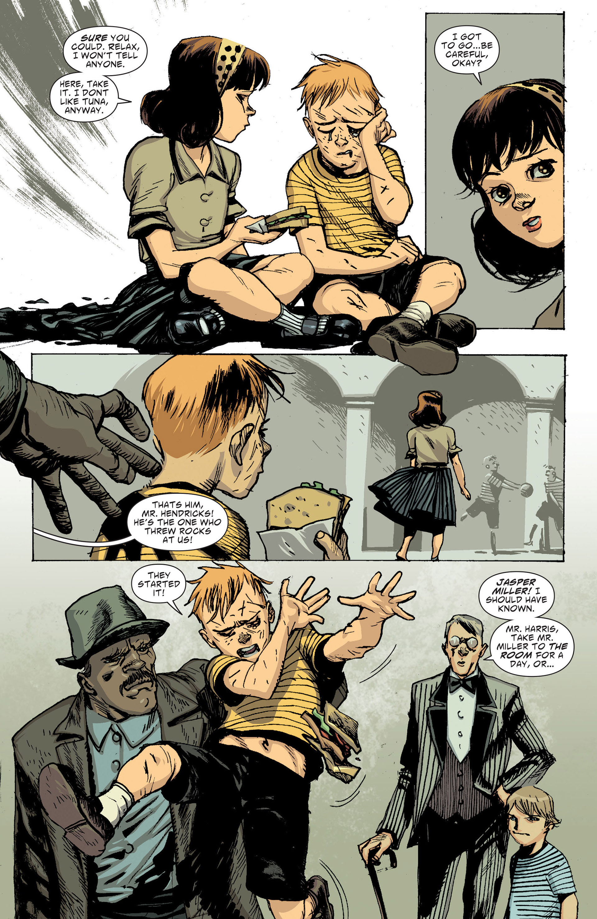 Read online American Vampire: The Long Road To Hell comic -  Issue # Full - 13