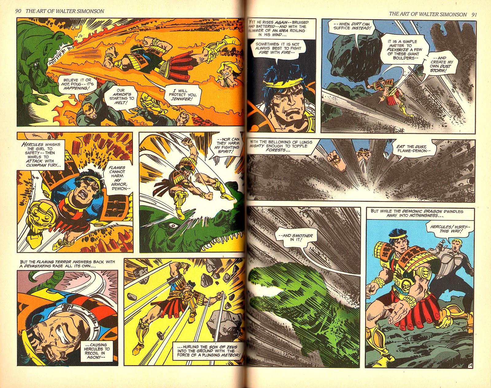 Read online The Art of Walter Simonson comic -  Issue # TPB - 47