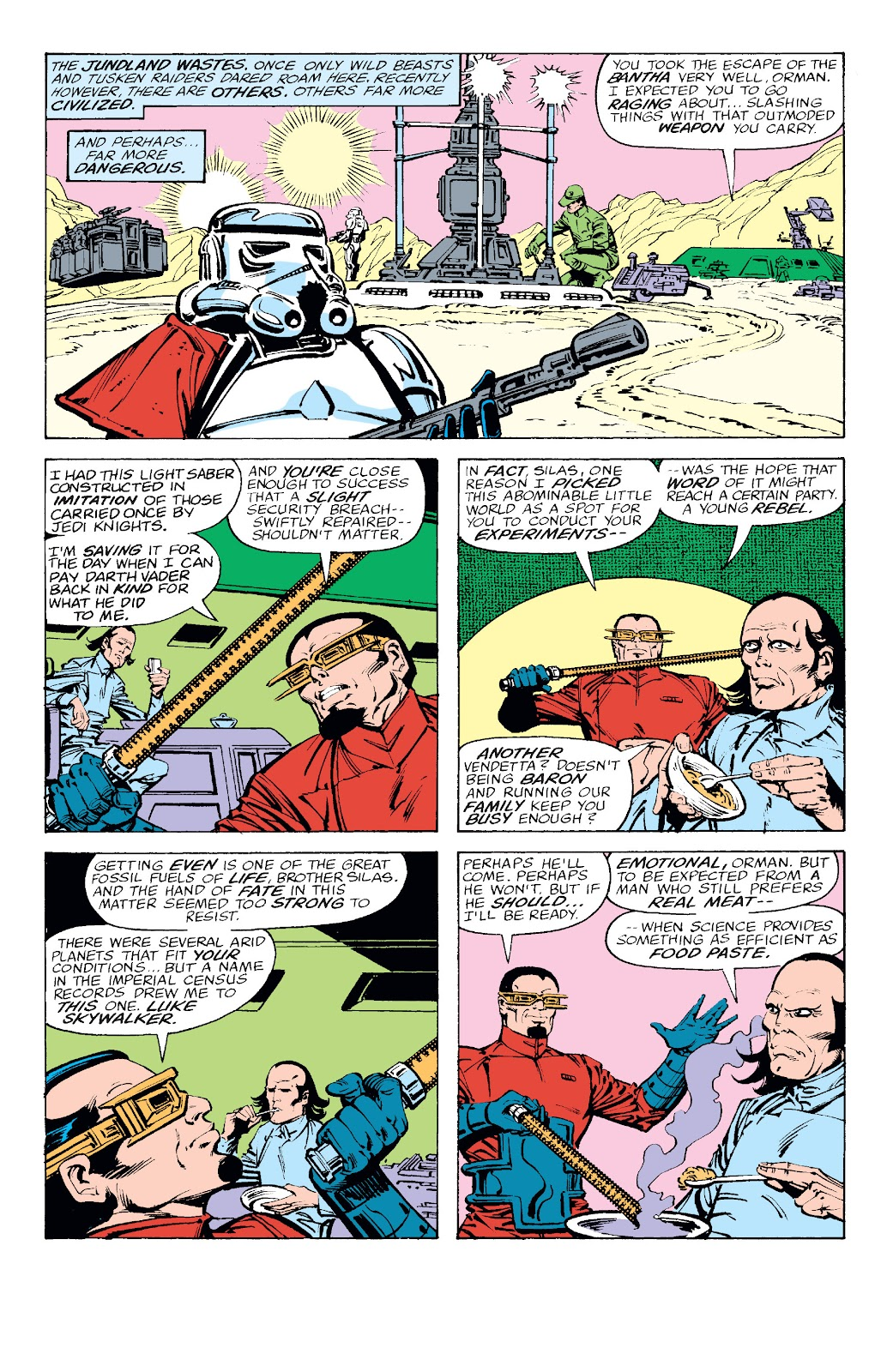 Read online Star Wars Legends: The Original Marvel Years - Epic Collection comic -  Issue # TPB 2 (Part 2) - 44