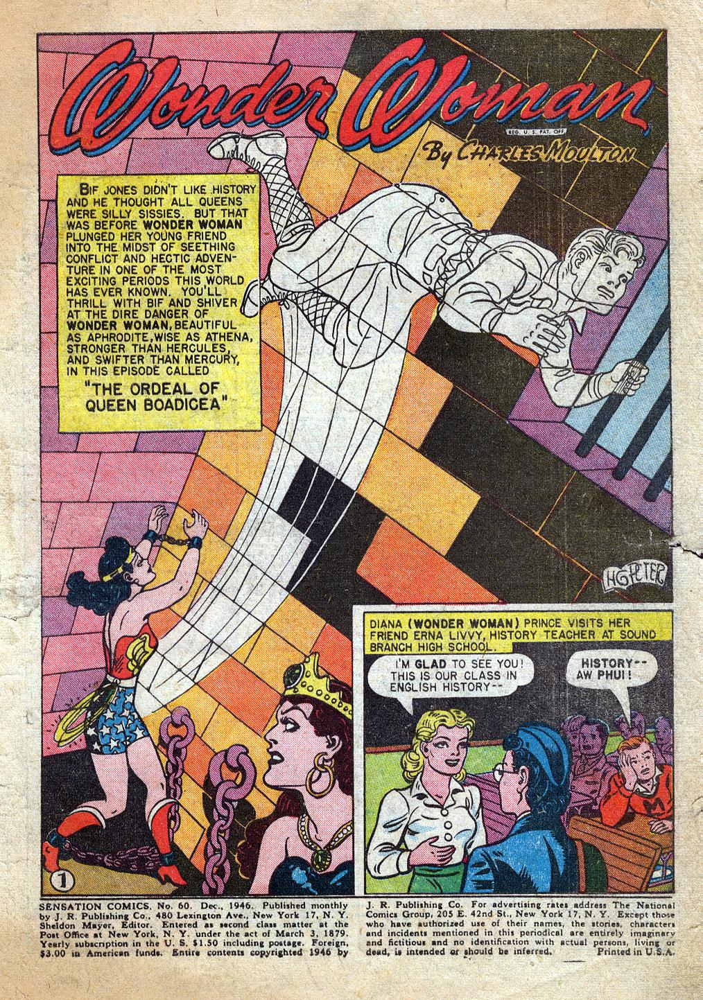 Read online Sensation (Mystery) Comics comic -  Issue #60 - 3
