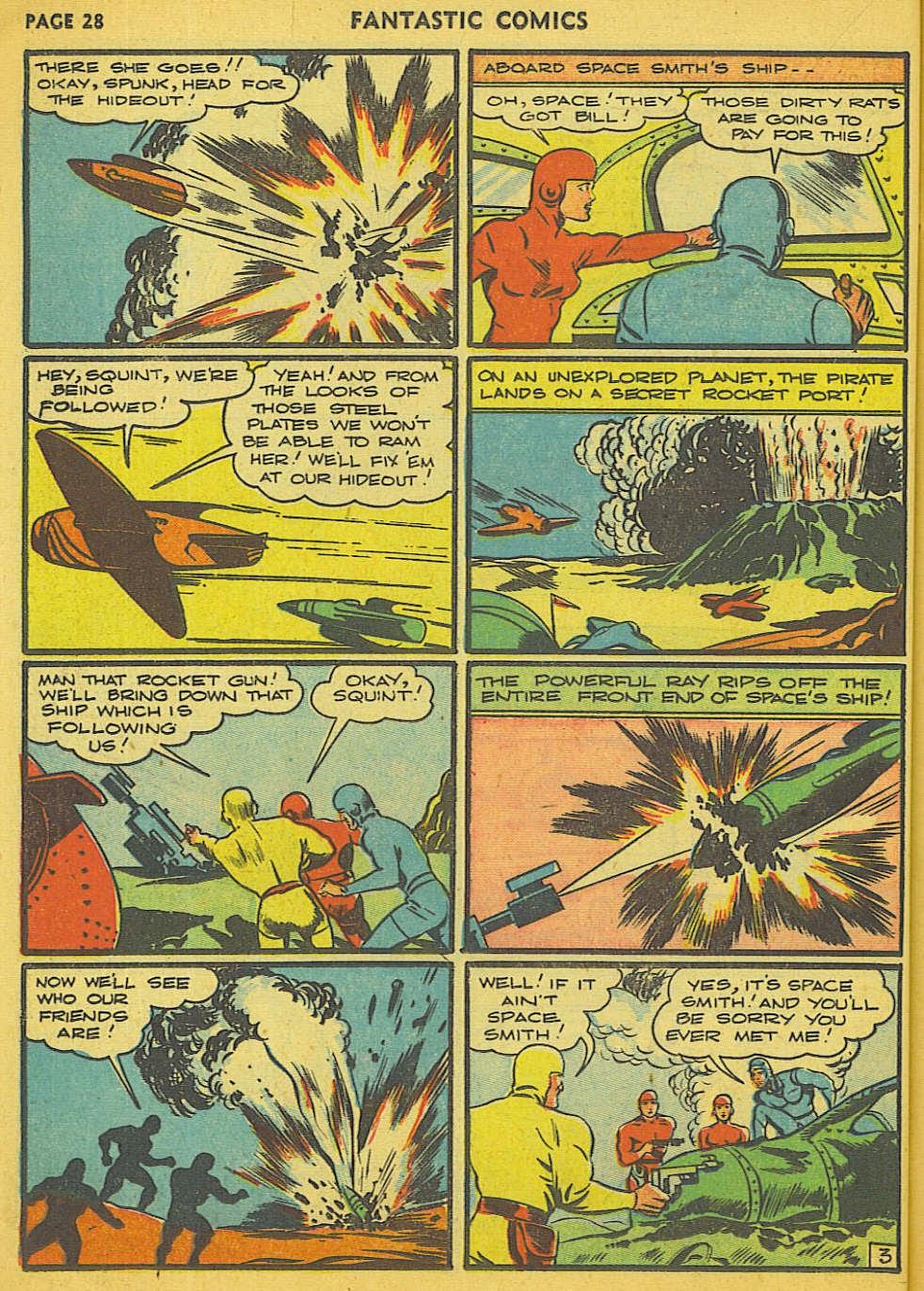 Read online Fantastic Comics comic -  Issue #15 - 22