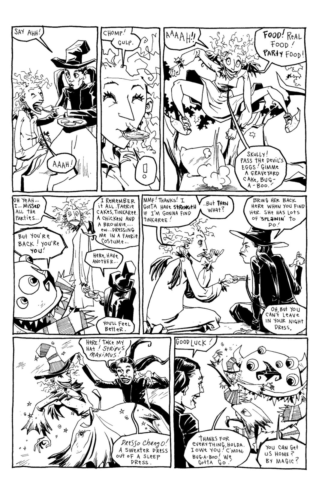 Read online Scary Godmother Comic Book Stories comic -  Issue # TPB - 241