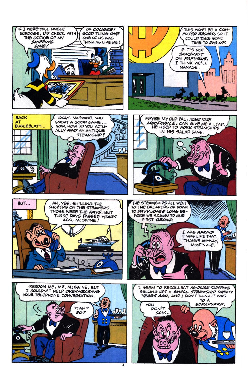 Read online Uncle Scrooge (1953) comic -  Issue #249 - 6