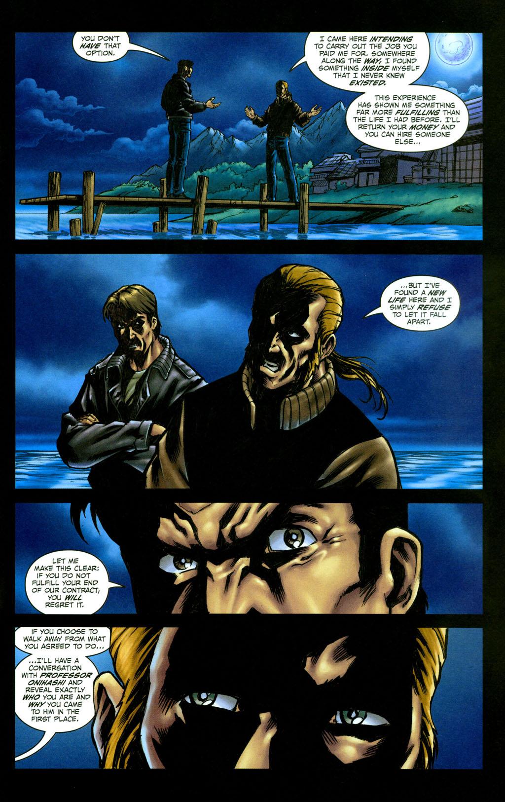 Read online Snake Eyes: Declassified comic -  Issue #4 - 22