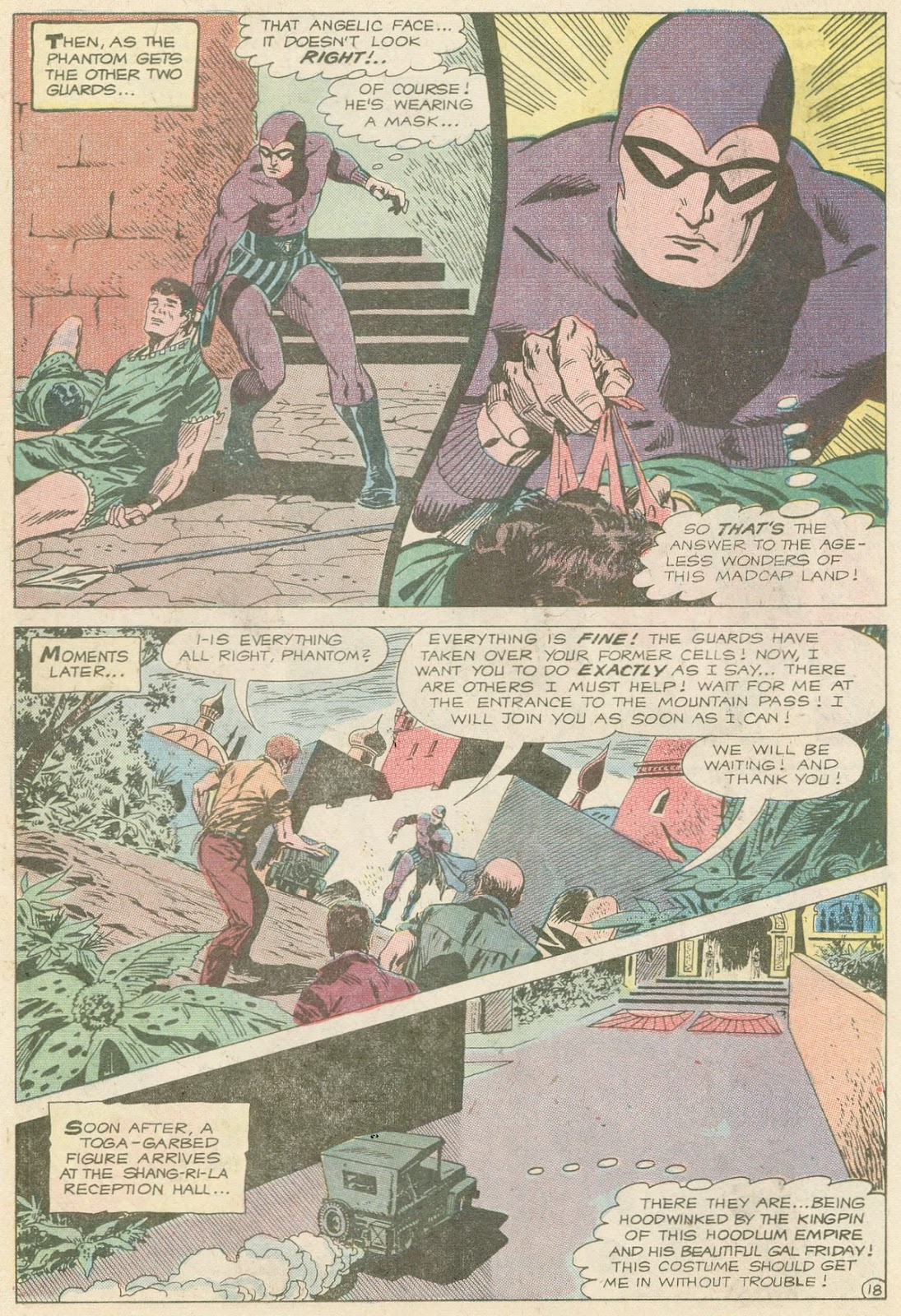 The Phantom (1969) issue 31 - Page 22