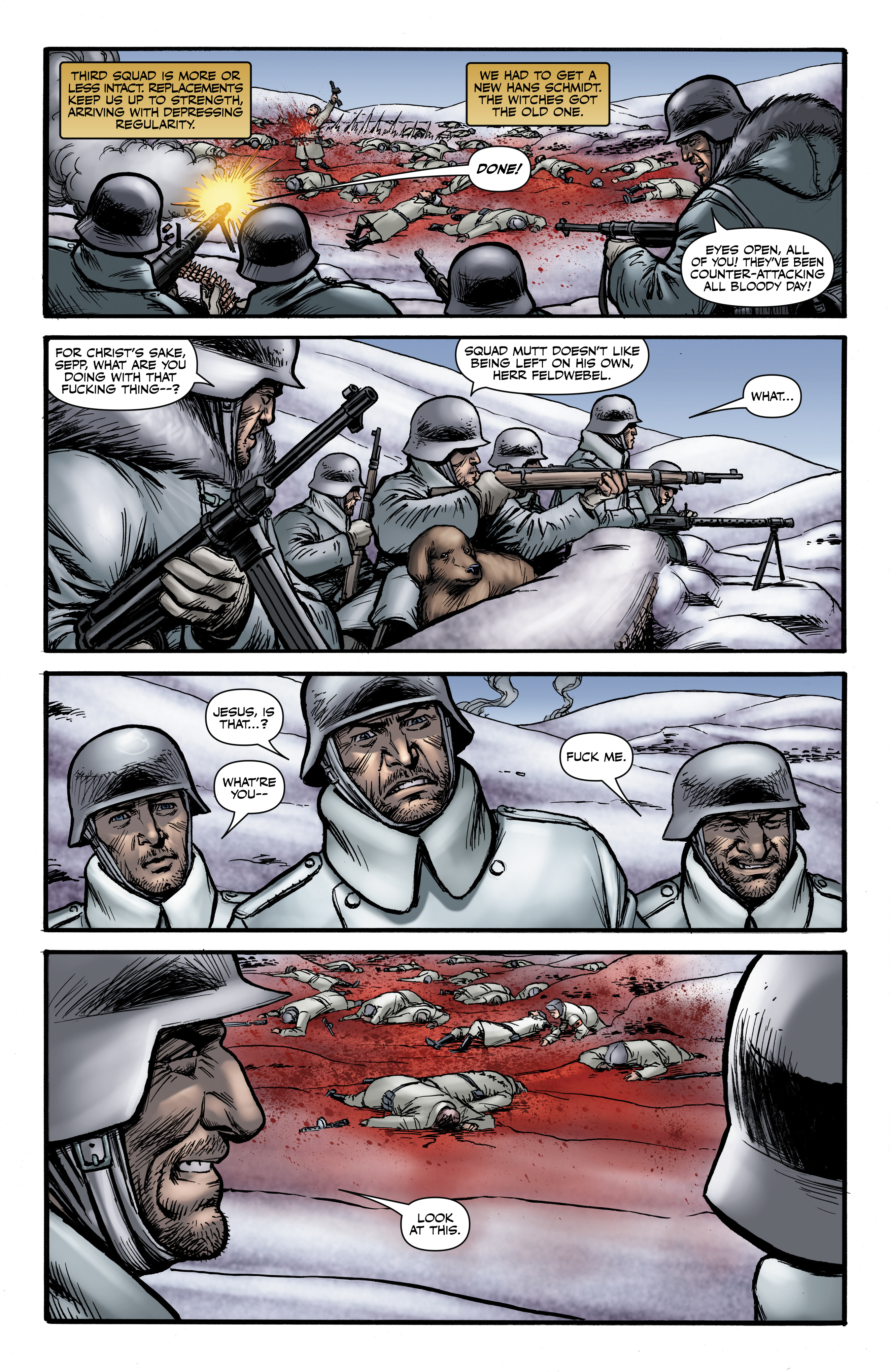 Read online Battlefields: Night Witches comic -  Issue # TPB - 54