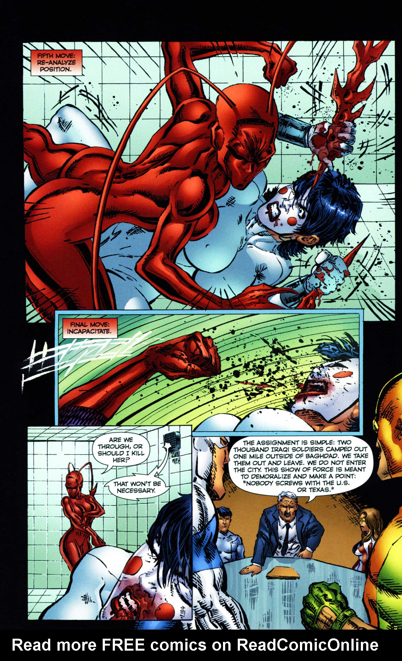 Read online Ant comic -  Issue #11 - 17