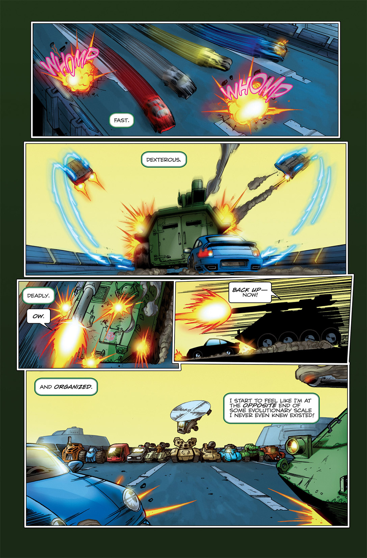 Read online Transformers Spotlight: Hardhead comic -  Issue # Full - 9