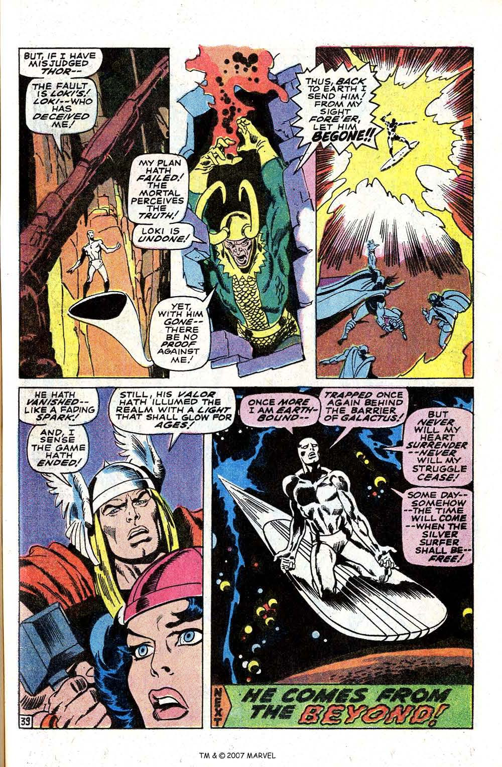 Read online Silver Surfer (1968) comic -  Issue #4 - 49