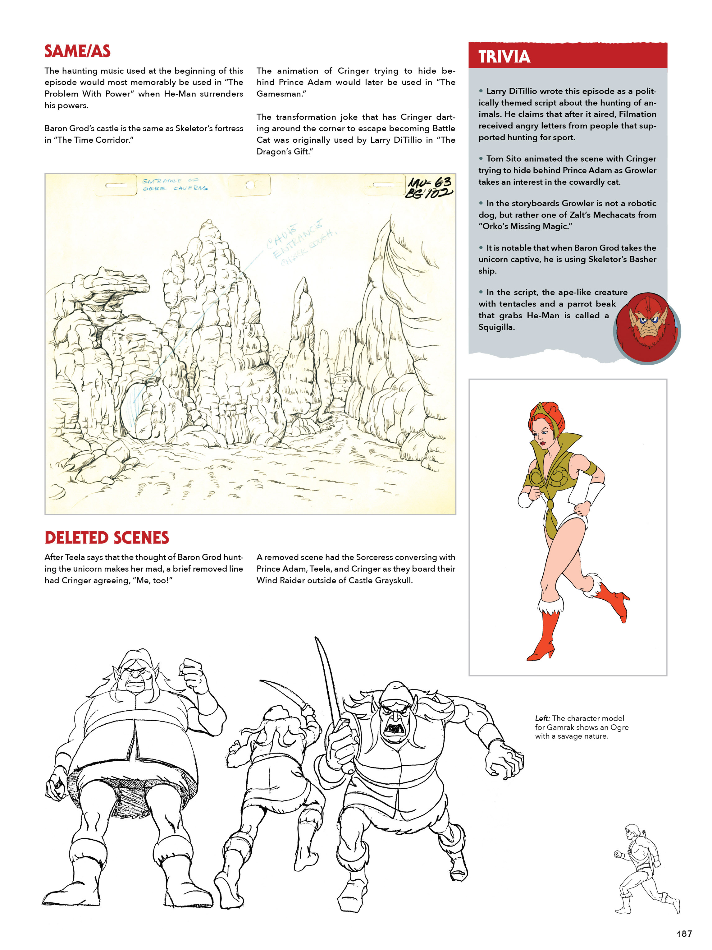Read online He-Man and She-Ra: A Complete Guide to the Classic Animated Adventures comic -  Issue # TPB (Part 1) - 187