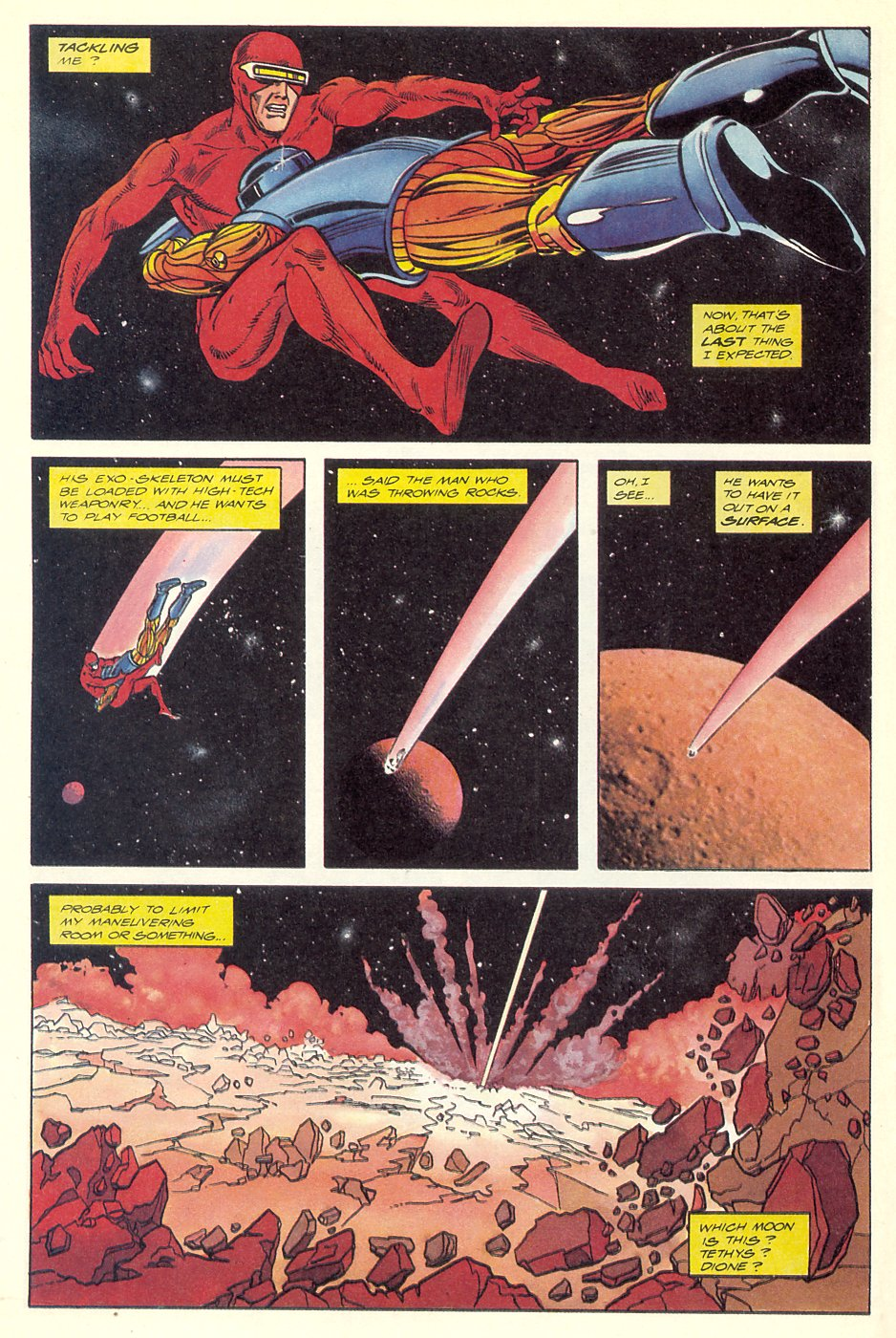 Read online Solar, Man of the Atom comic -  Issue #7 - 10