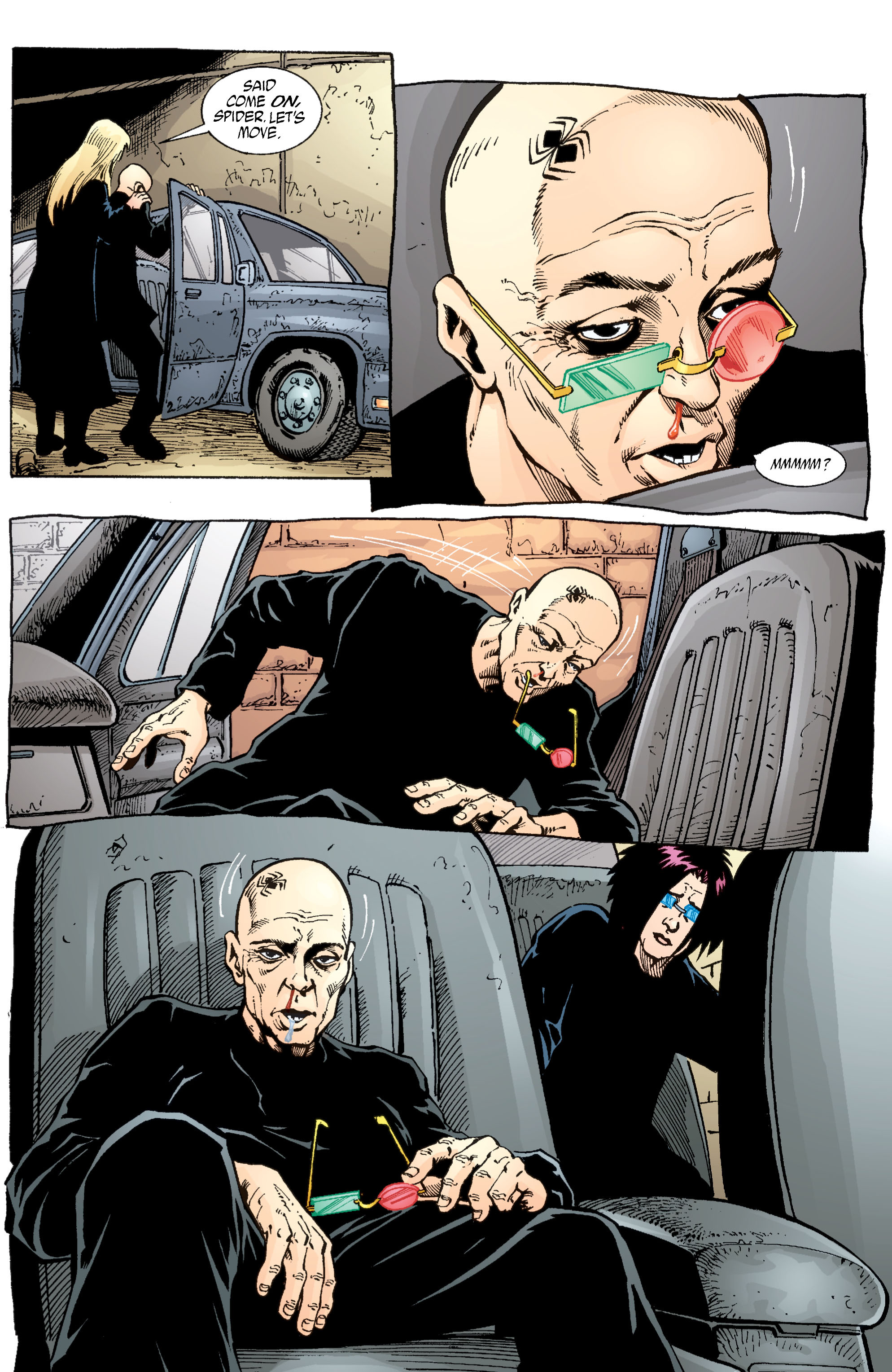 Read online Transmetropolitan comic -  Issue #55 - 11