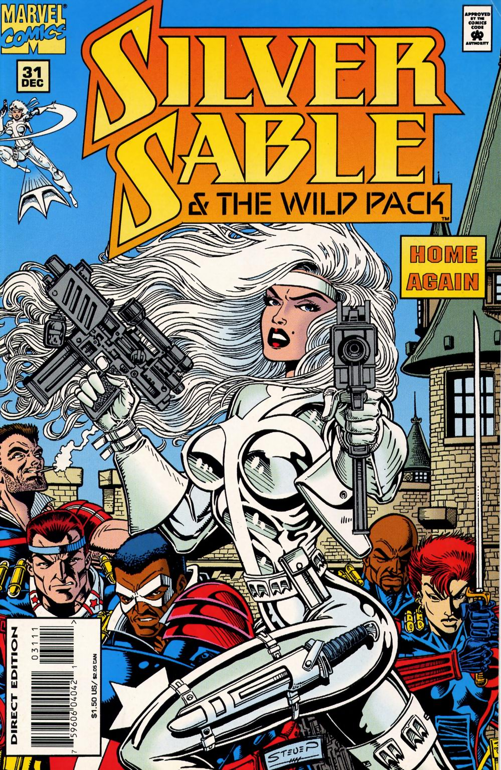 Read online Silver Sable and the Wild Pack comic -  Issue #31 - 1