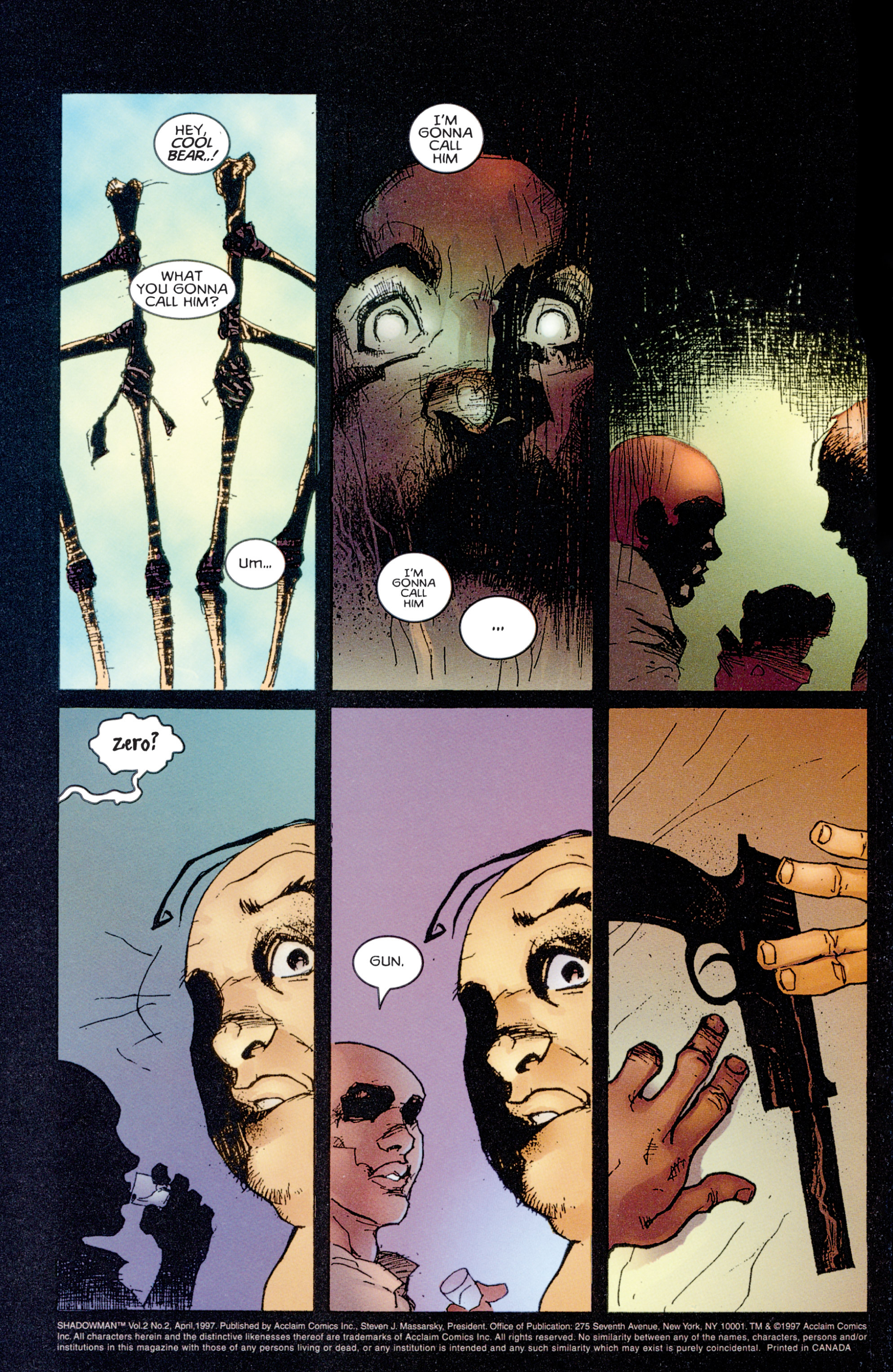 Read online Shadowman (1997) comic -  Issue #2 - 3