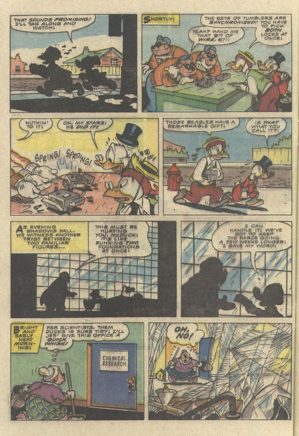 Read online Uncle Scrooge (1953) comic -  Issue #241 - 24
