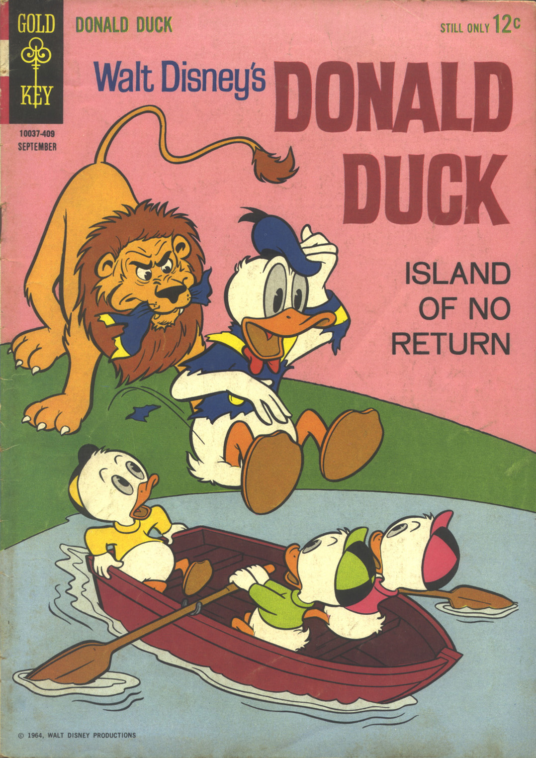Donald Duck (1962) 97 Page 1