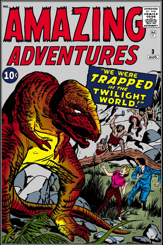 Read online Amazing Adventures (1961) comic -  Issue #3 - 1